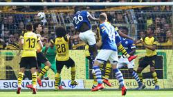 Beim 2:1 durch Salif Sané sahen vier BVB-Spieler tatenlos zu