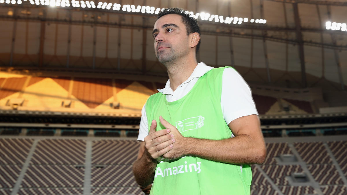 Xavi hängt die Fußballschuhe endgültig an den Nagel