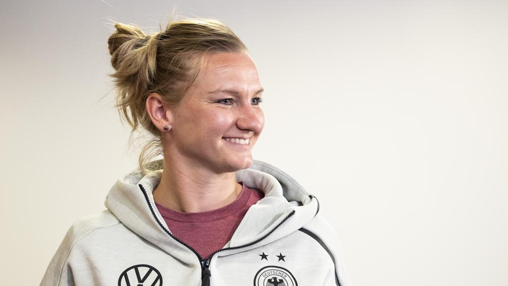 Geht entspannt in ihre dritte WM: Alexandra Popp