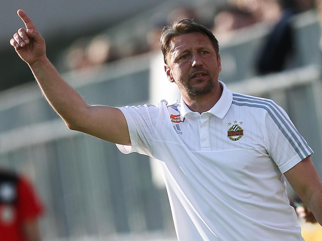 Zoran Barišić lenkt seit Mitte Mai die sportlichen Geschicke bei Rapid Wien