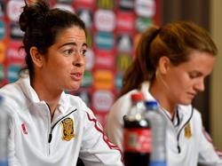 Marta Torrejón und Irene Paredes zeigten sich optimistisch