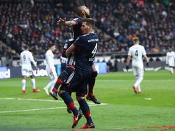 Arturo Vidal bejubelt seinen Siegtreffer