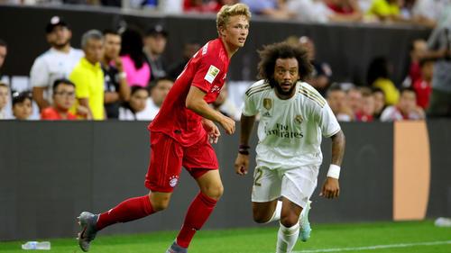 Jann-Fiete Arp zeigte gegen Real Madrid einen couragierten Auftritt