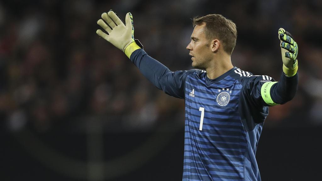 Manuel Neuer steht gegen Nordirland im DFB-Tor