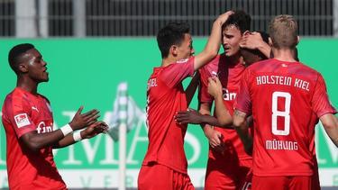 Holstein Kiel feierte bei der SpVgg Greuther Fürth einen souveränen Auswärtssieg