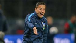 Ante Covic kassierte mit Hertha BSC zuletzt drei Niederlagen in Folge