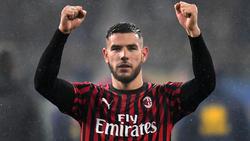 Statt in Leverkusen nun in Mailand: Theo Hernández