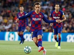 Antoine Griezmann wird zum ersten Mal im Barcelona-Trikot gegen Real Madrid auflaufen