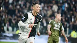 Cristiano Ronaldo hat Juventus zum Sieg geführt