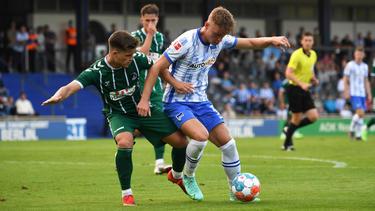 Hertha BSC nur 1:1 gegen Regionalligist VfB Lübeck