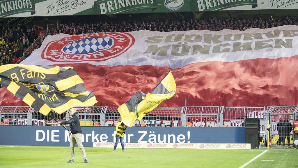 Die Fans von BVB und FC Bayern haben ein gemeinsames Anliegen