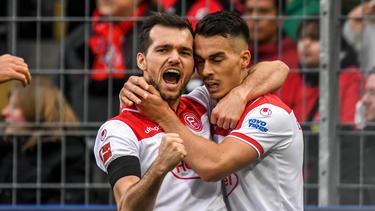 Fortuna Düsseldorf hat seinen Negativtrend gestoppt