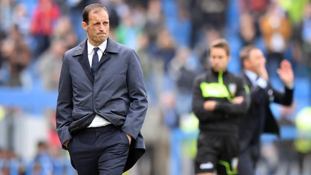Massimiliano Allegri stand angeblich beim BVB auf dem Zettel