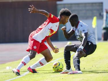 Karim Adeyemi wirbelte in der ersten Hälfte
