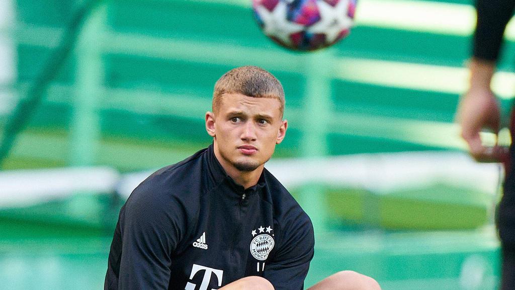 Mickaël Cuisance hat beim FC Bayern noch einen Vertrag bis 2024