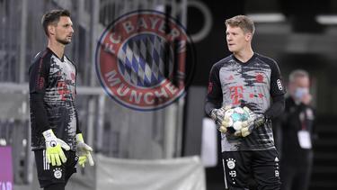 Wie geht es für Ulreich (li.) und Nübel (re.) beim FC Bayern weiter?