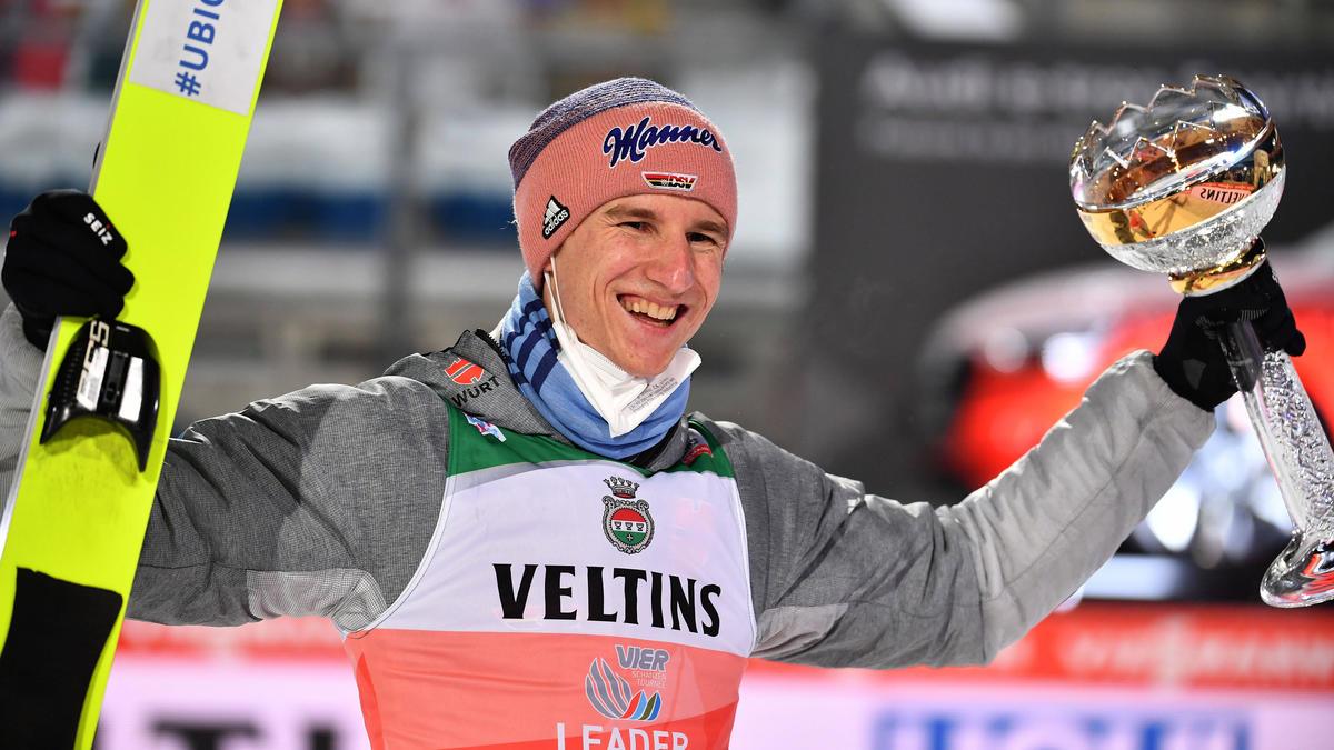 Karl Geiger war in Oberstdorf nicht zu stoppen