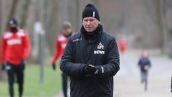 Markus Gisdol vom 1. FC Köln steht vor dem Duell gegen den FC Schalke 04 unter Druck