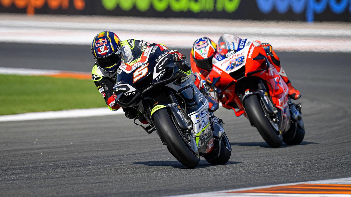 Johann Zarco (vorne) startet 2021 für Pramac-Ducati