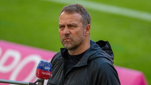 Hansi Flick vom FC Bayern zeigte sich genervt