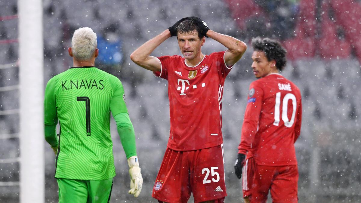 Bittere Champions-League-Pleite für Thomas Müller und den FC Bayern