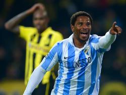 Eliseu bringt Málaga in der 81.Minute erneut in Front