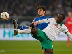 Zweikampf auf Schalke