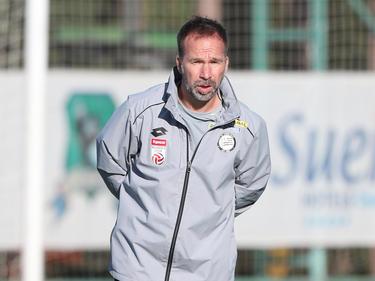 Sturm-Coach Roman Mählich war mit der Leistung in der zweiten Hälfte alles andere als zufrieden