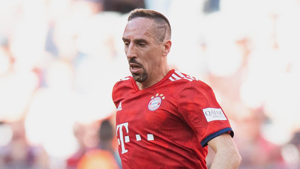 Franck Ribéry wird den FC Bayern nach zwölf Jahren verlassen