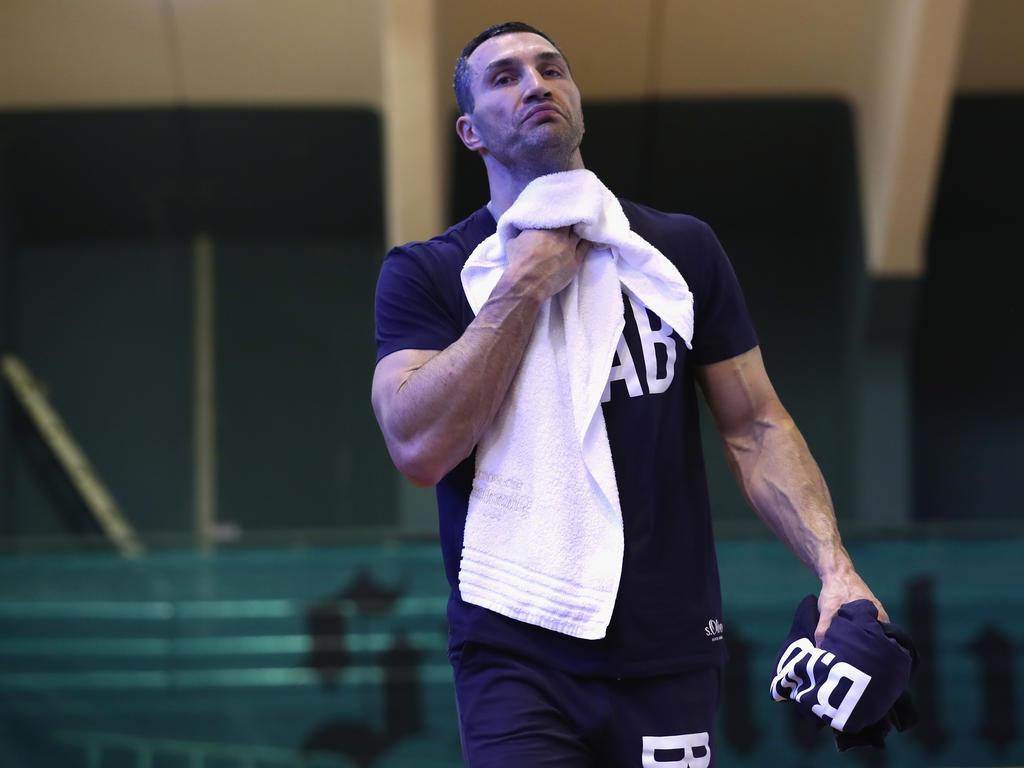 Wladimir Klitschko Hält nichts von einer Mega-Serie im Box-Sport