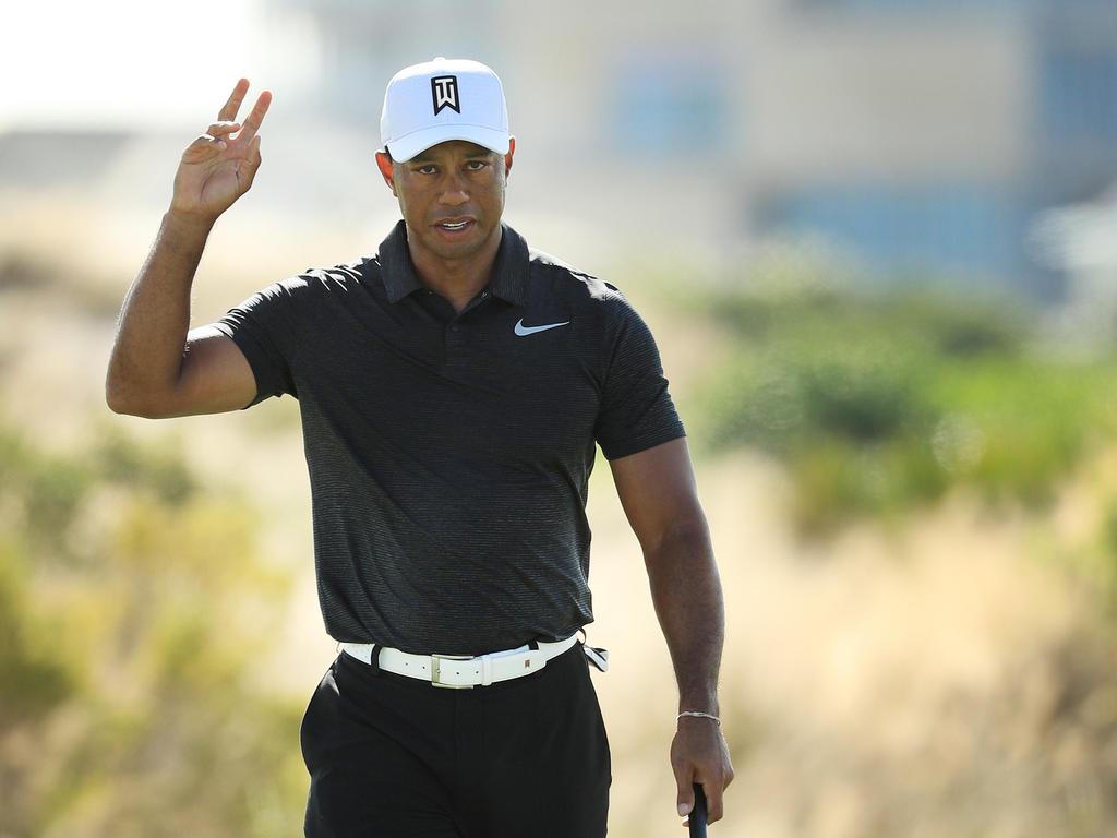 Tiger Woods feiert ein gelungenes Golf-Comeback