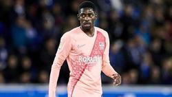 Barcelonas Ousmane Dembélé hat sich am Oberschenkel verletzt