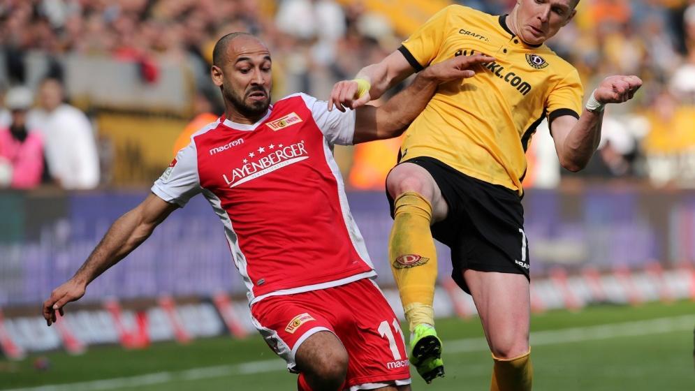 Union Berlin nur 0:0 gegen Dynamo Dresden