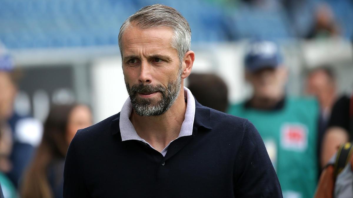 Gladbachs Trainer Marco Rose war mit der Leistung in Istanbul nicht zufrieden