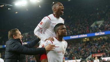 Der 1. FC Köln besiegte Bayer Leverkusen