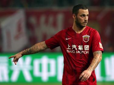 Marko Arnautović weilt in Dubai, während seine Klubkollegen von Shanghai SIPG längst weg sind