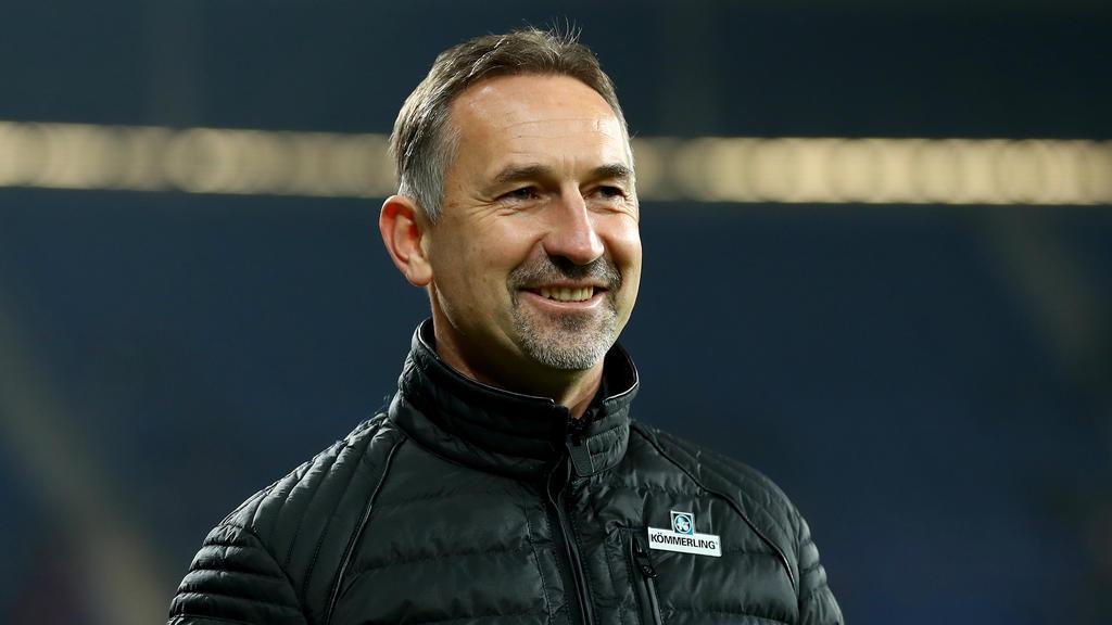 Achim Beierlorzer konnte seine ersten beiden Spiele mit den Mainzern gewinnen