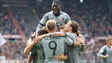 Der FC St. Pauli klettert nach dem Sieg auf Platz drei