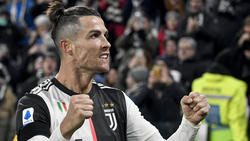 Cristiano Ronaldo erzielte beim 2:1 gegen Parma beide Treffer