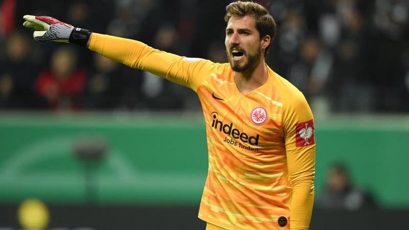Warnt davor, zu locker in das Rückspiel in Salzburg zu gehen: Eintracht-Keeper Kevin Trapp