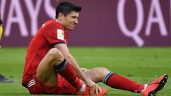 Robert Lewandowski fehlt dem FC Bayern mehrere Wochen