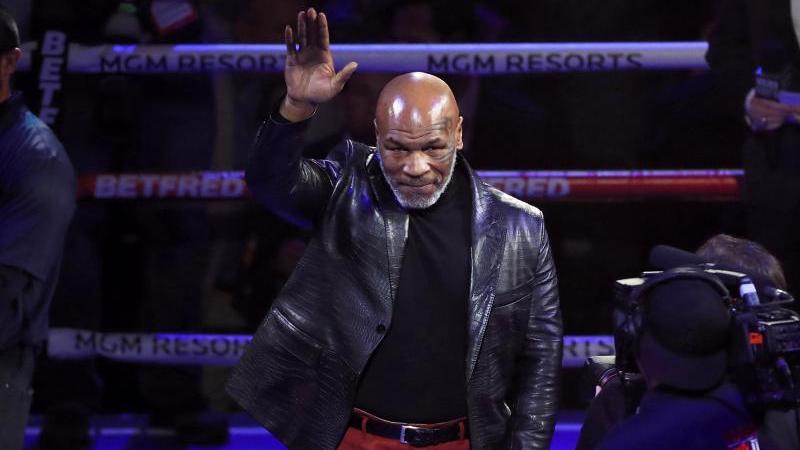 Denkt über ein Comeback für einen guten Zweck nach: Mike Tyson