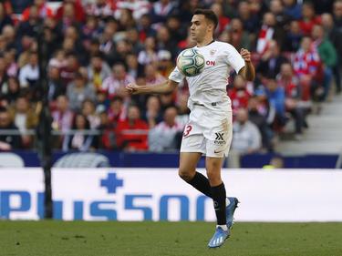 Reguilón completó una temporada genial con el Sevilla.