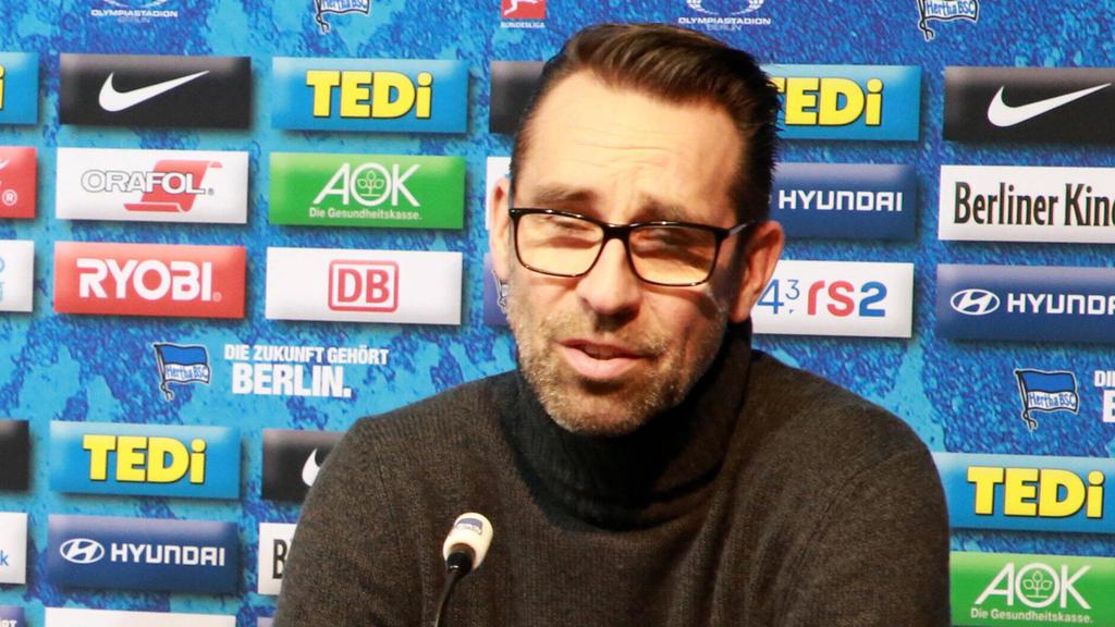 Michael Preetz hat sich zur Berliner Kaderplanung geäußert