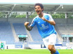 Philipp Hosiner wird auch weiterhin in der 3. Liga über Tore jubeln