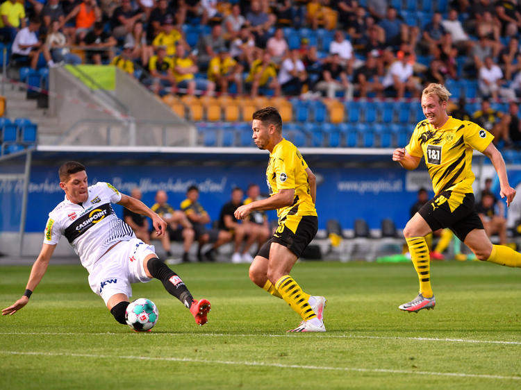 Klarer Dortmund-Sieg in Altach