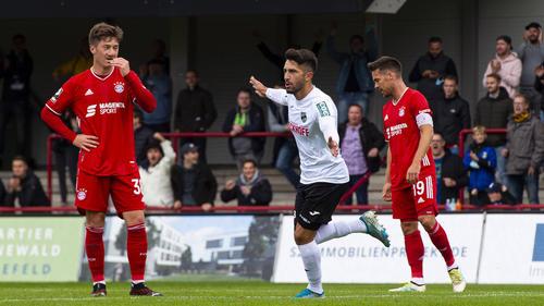 Der SC Verl sorgte gegen den FC Bayern II für eine Überraschung