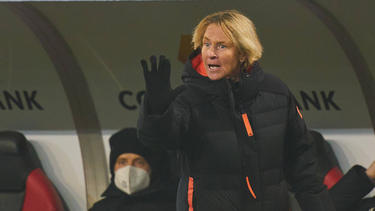 Martina Voss-Tecklenburg sieht noch Verbesserungsmöglichkeiten im Frauenfußball