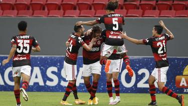 El Flamengo tuvo más efectividad en ataque.