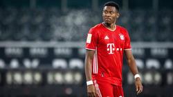 Beim FC Bayern gesetzt, aber nicht konstant: David Alaba